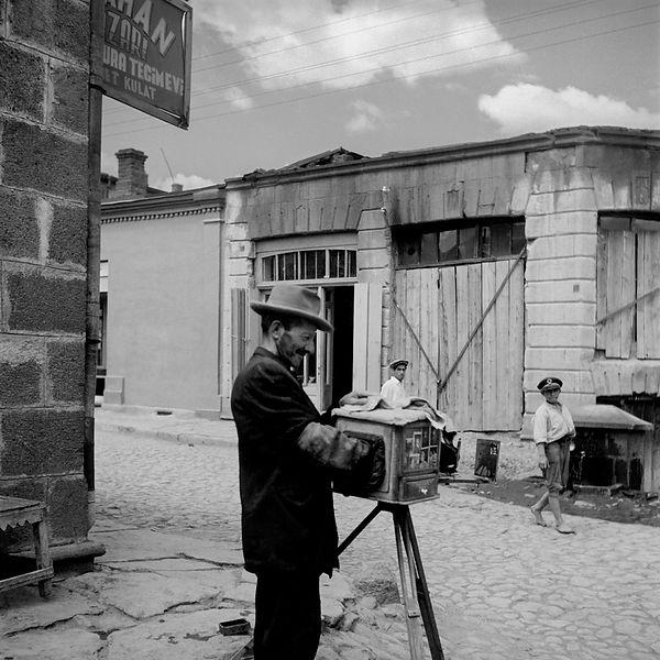 PHOTOGRAPHER / FOTOĞRAFÇI,Anatolia, Turkey 1955
