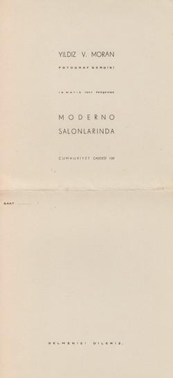 Invitation of IV. Exhibition