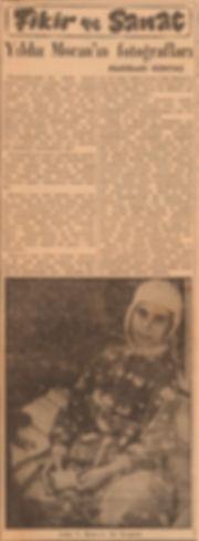 Aldülkadir Günyaz  Vatan Gazetesi 1 Haziran 1957