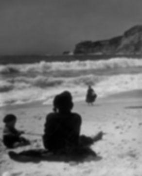 BEACH / KUMSAL, Nazare, Portugal 1952