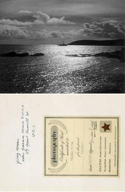 "Certificate of Merit for ""Water"""
