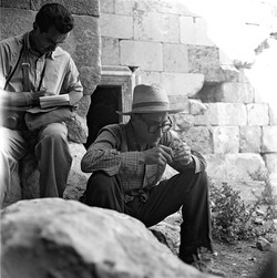 MAZHAR SEVKET IPSIROGLU, 1955