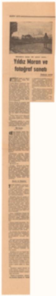 Özdemir Asaf  Cumhuriyet Gazetesi  28 Kasım 1970