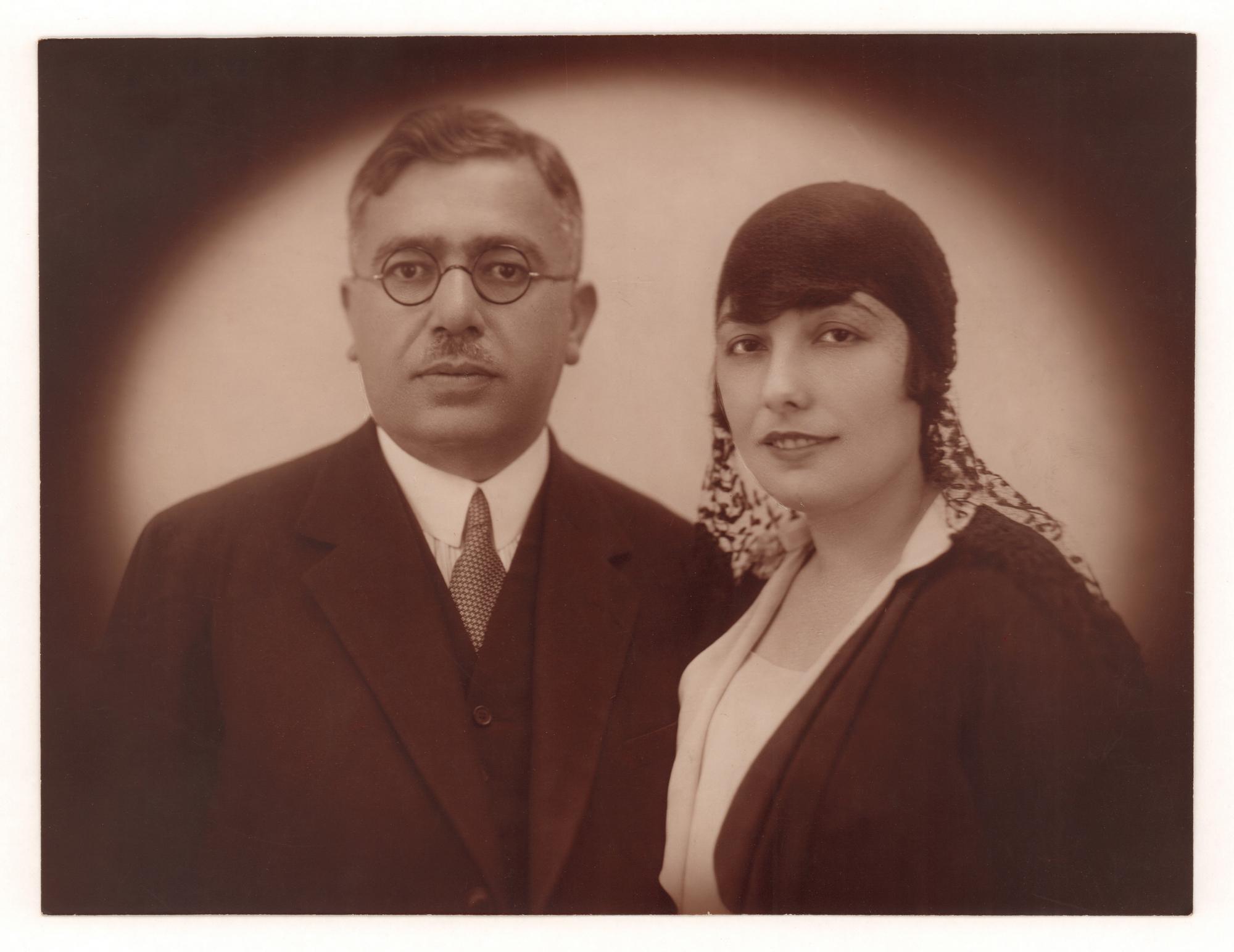 Ahmet Vahid and Nemide Moran 1927