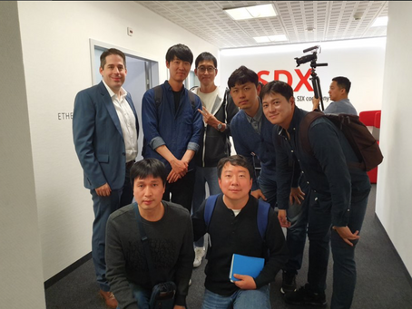 Managers from NH Investment & Securities (one of top 3 securities firms in Korea) paid a visit to SA