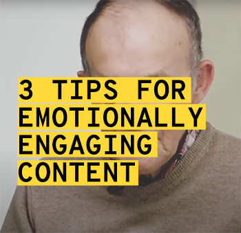 3 tips on how to create emotionally engaging video