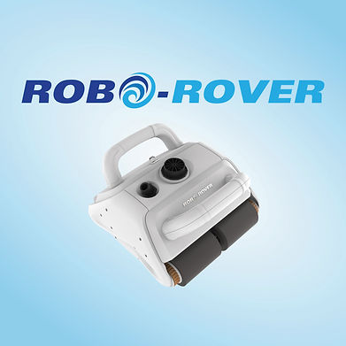 RoboRover battery operated pool cleaning robot Tangle free