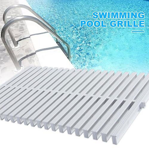 Swimming Pool Overflow Grid Non-Slip Board Swimming Pool Water Drain Grill/grate