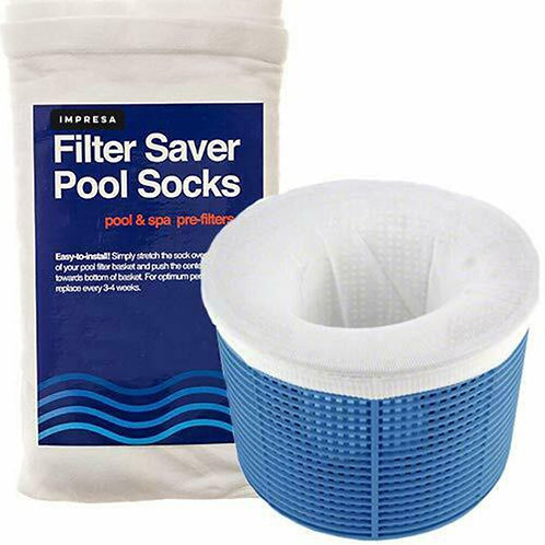 Reusable Removes Debris Fine Mesh Large Nylon Pool Filter Socks Basket Sleeve