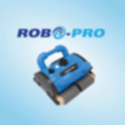 RoboPro automatic pool cleaning robot