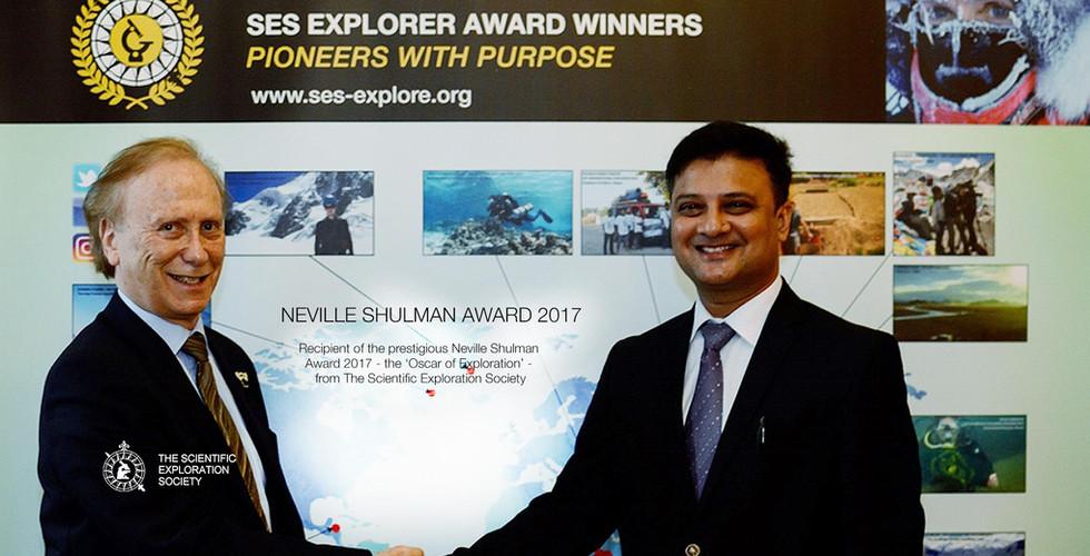 Neville Shulman Award 2017