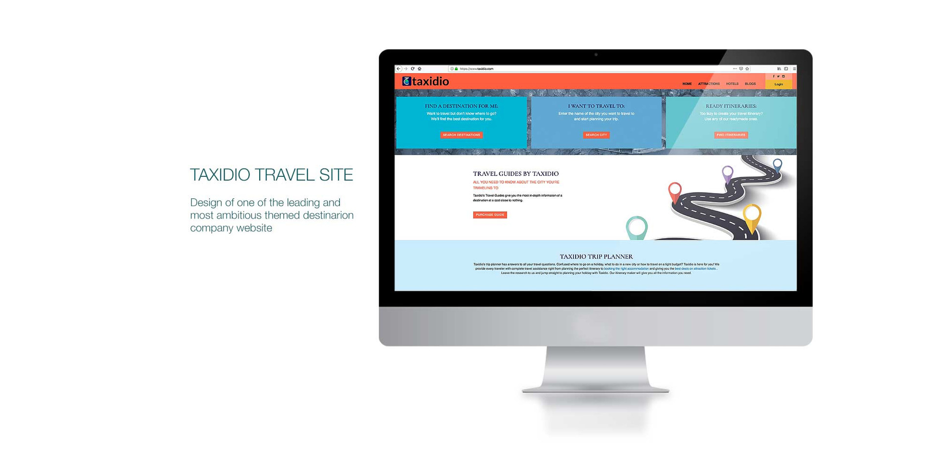 Taxidio Website