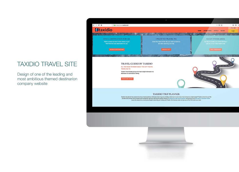 Taxidio Website