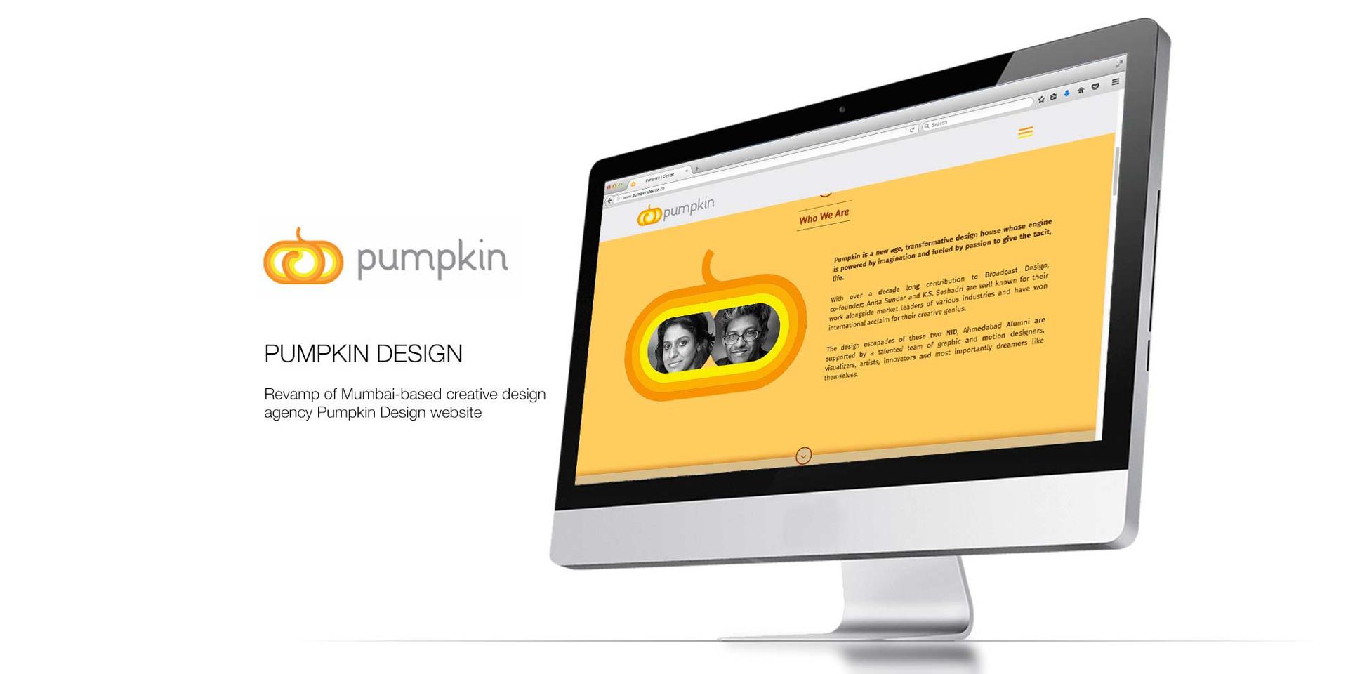 Pumpkin Design Website