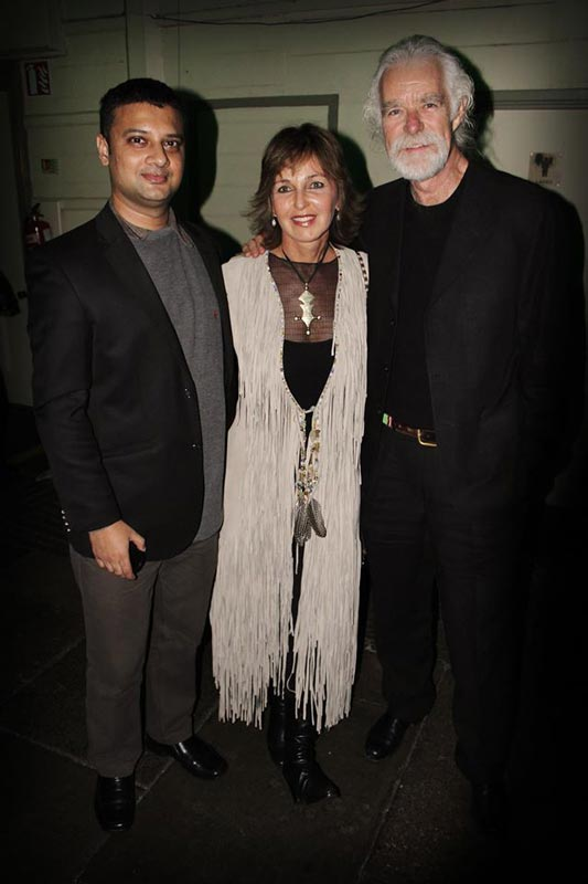 With Derek & Beverly Joubert