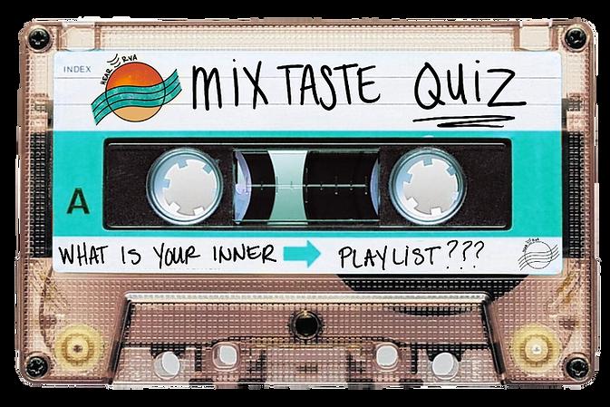 MixTaste clear Cassette Tape mixtape HearRVA quiz