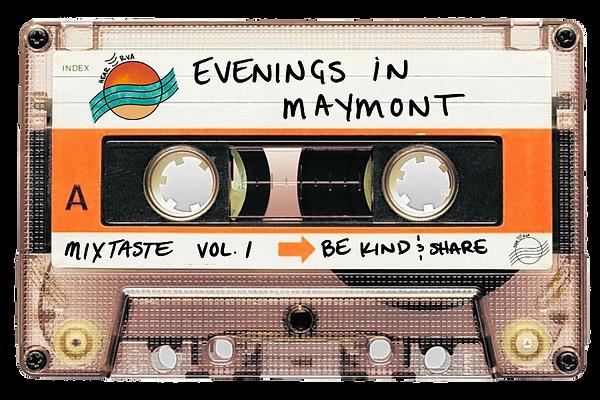 HearRVA mixtaste playlist Maymont cassette tape