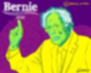 Bernie Sanders 2020 art print proceeds donated to presidential campaign by artist Rian L. Moses