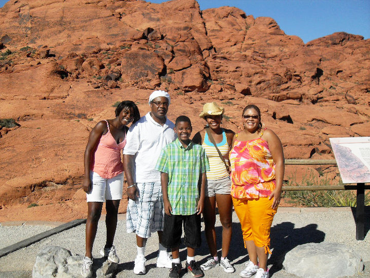 moses family red rock canyon