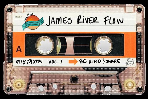 HearRVA mixtaste playlist quiz james river cassette tape