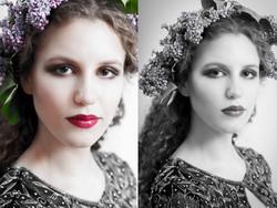 Beauty Model Sedcard Shooting