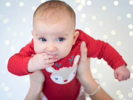 Baby Weihnachtsshooting