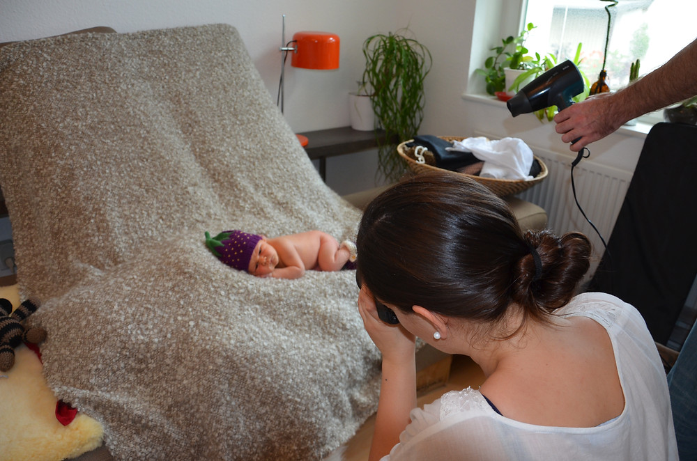 Baby Fotoshooting Frankfurt Homeshooting