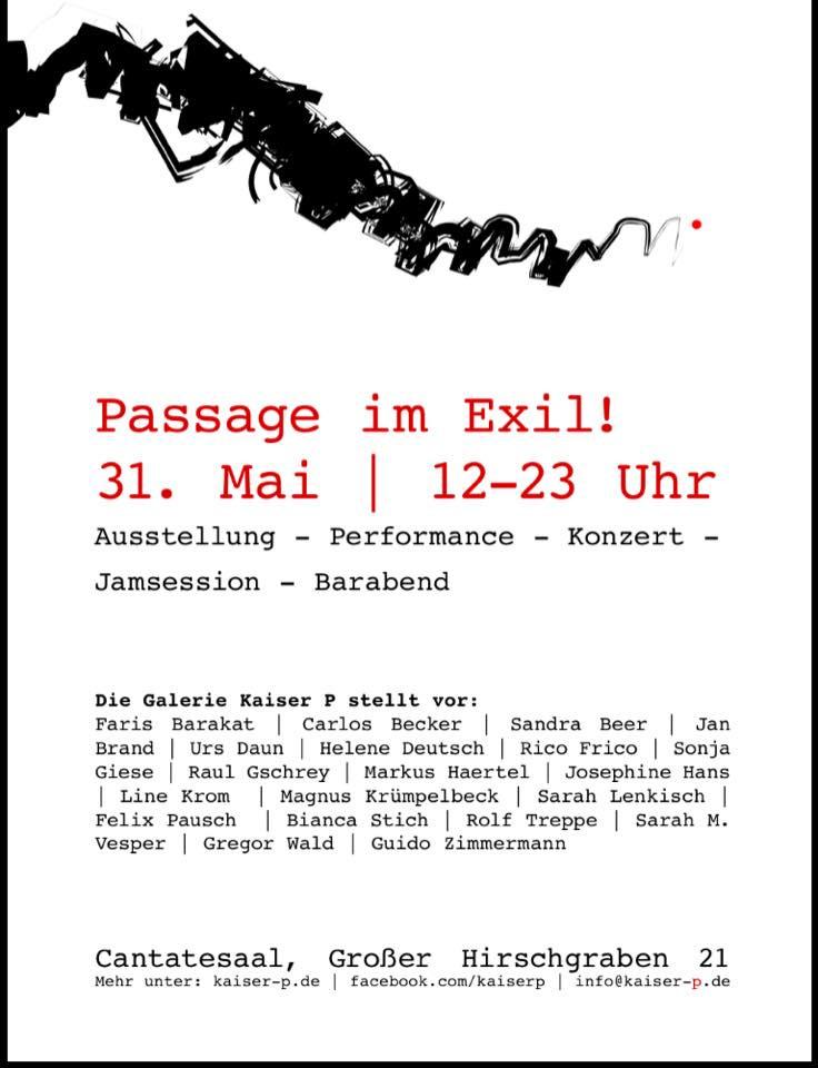 Sarah Lenkisch Ausstellung Frankfurt