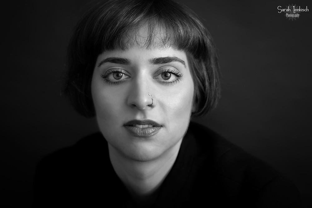 professionelles Bewerbungsfoto Künstler-Portrait Frankfurt