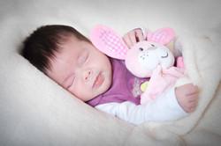 Neugeborenen Homeshooting