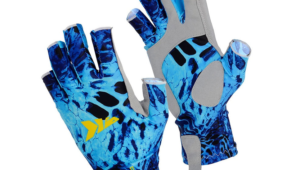 KastKing SPF 50 Sun Protection Fishing Gloves