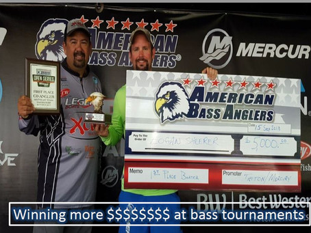 Improving your odds to cutting a check at bass fishing tournaments