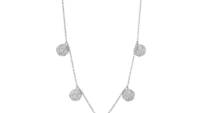 Silver Deus Necklace Coin Ania Haie