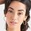 Thumbnail: Gold Curb Chain Hoop Earrings Ania Haie