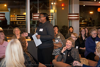 Business Women Connect Elevator Pitch