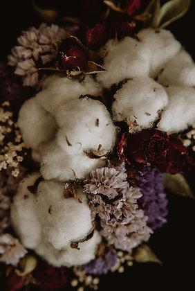 Bawełna z różami 02