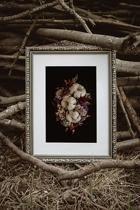 Bawełna z różami 01