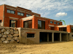 Construction maison double