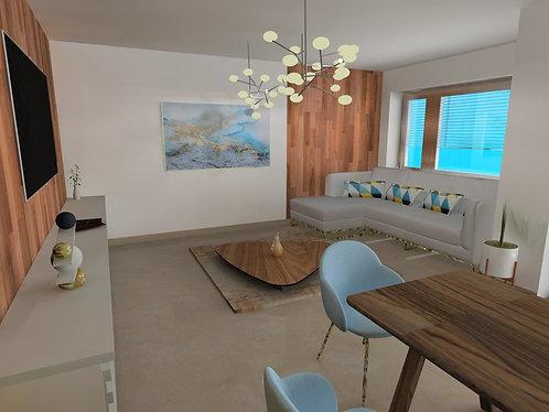 II. district - 4 bedroom apartment