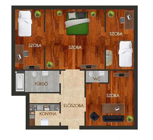 Apartment in district VIII.