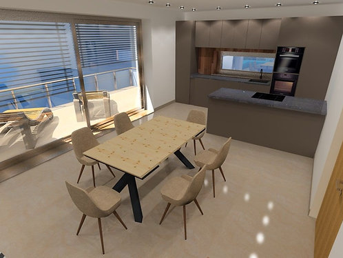 II. district - 3 bedroom apartment