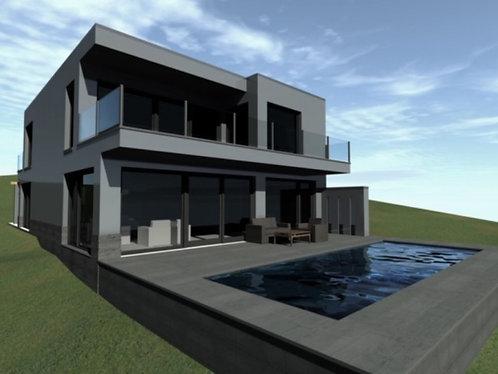 Newly built family house Solymár