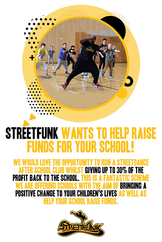STREETFUNK WANTS TO HELP RAISE FUNDS FOR