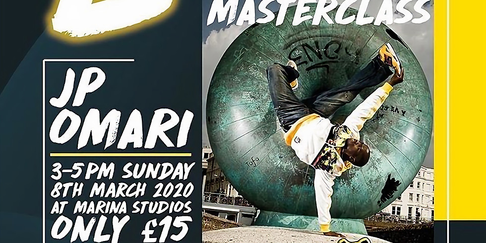 BBOY Masterclass with JP Omari