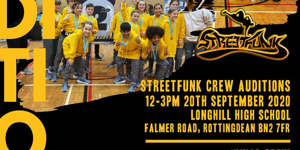 Streetfunk Crew Auditions 2020