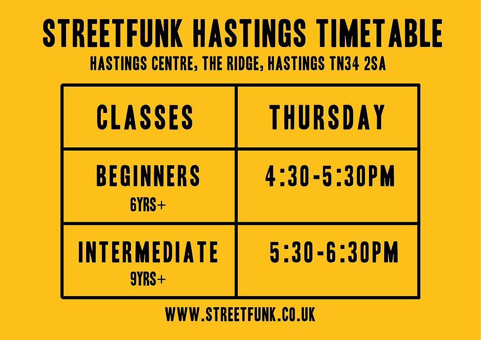 Hastings Timetable