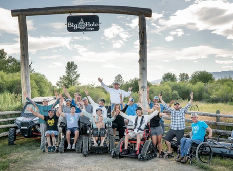 Cheeky Sponsors Adaptive Fly Fishing Camp for Disabled Athletes