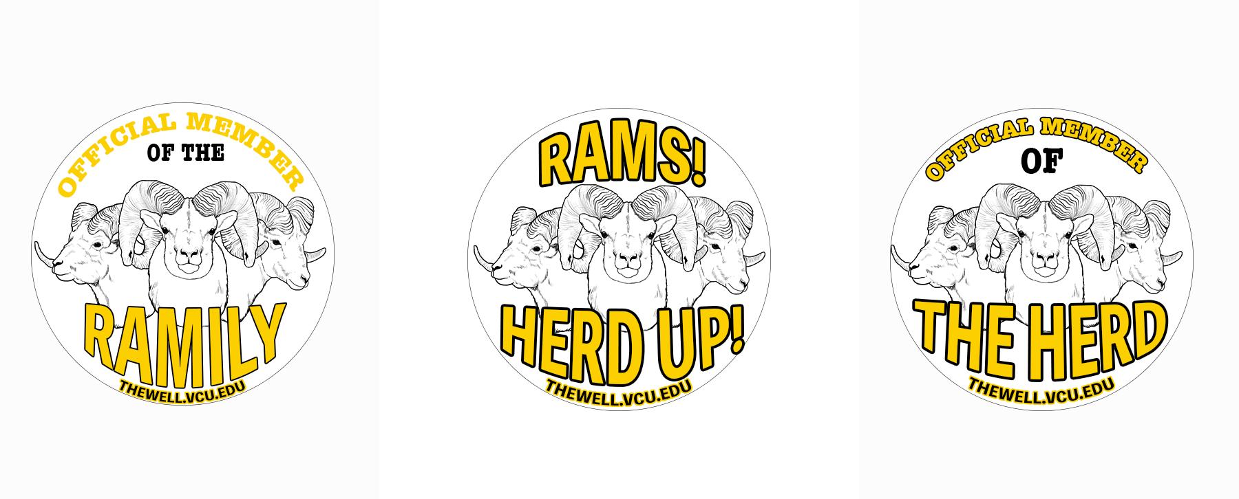 Ram Button Designs