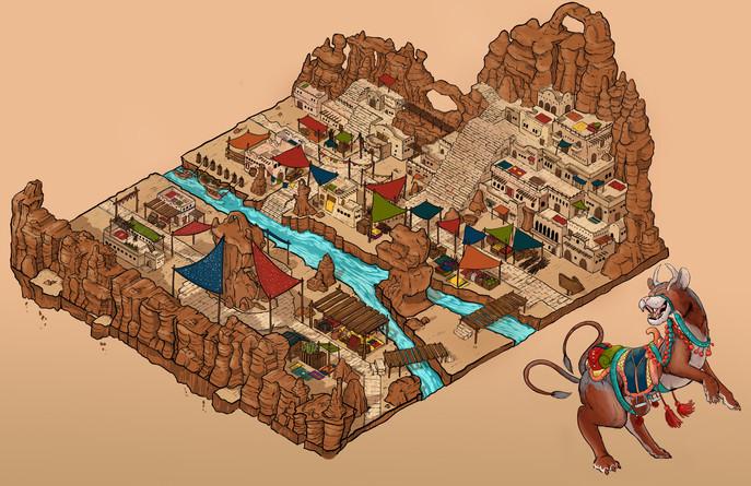 Ori / Canyon Environment Design
