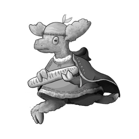 Prince Scooter Character Design